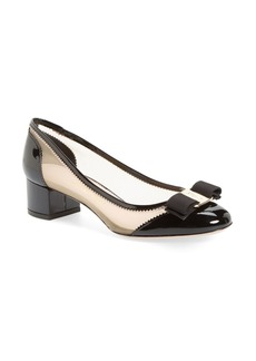 Salvatore Ferragamo Eva Mesh Pump (Women)