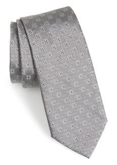 Salvatore Ferragamo Ferrara Medallion Silk Tie