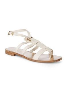 Ferragamo Fiamma Strappy Leather Sandals