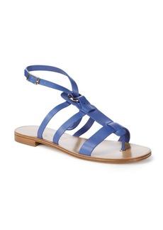 Salvatore Ferragamo Fiamma Strappy Leather Sandals