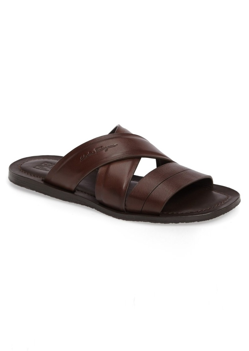 46e5a6379 Ferragamo Salvatore Ferragamo Filone Slide Sandal (Men)