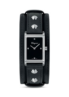 Salvatore Ferragamo Fiore Studs Watch, 24mm x 33mm