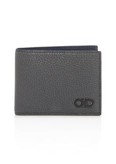 Salvatore Ferragamo Firenze Color-Block Leather Bifold Wallet