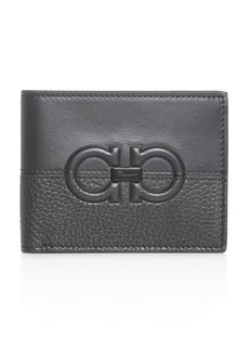 Salvatore Ferragamo Firenze Contrasting Leather Bi-Fold Wallet