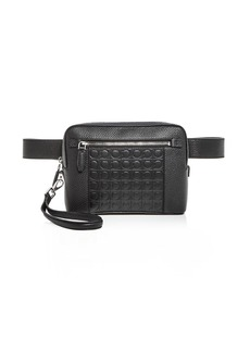 Salvatore Ferragamo Firenze Gamma Leather Belt Bag