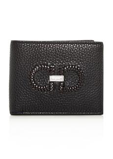 Salvatore Ferragamo Firenze Intreccio Leather Bi-Fold Wallet