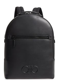 Salvatore Ferragamo Firenze Leather Backpack