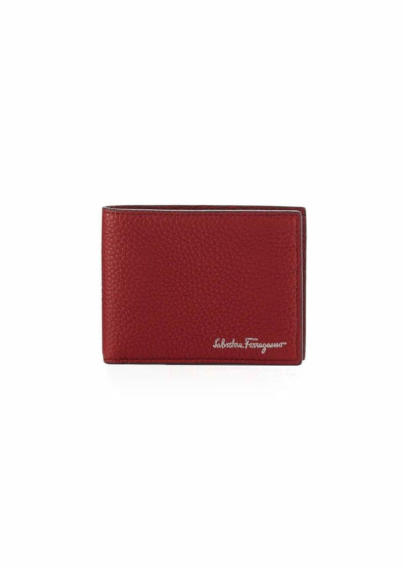 6463e9dc38bc Ferragamo Men s Firenze Leather Bi-Fold Wallet