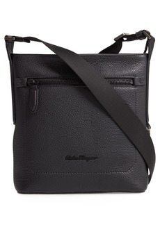 Salvatore Ferragamo Firenze Leather Crossbody Bag