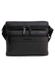 Salvatore Ferragamo Firenze Leather Shoulder Bag