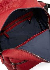 Ferragamo Men's Firenze Grained Leather Backpack