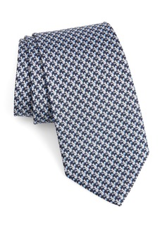 Salvatore Ferragamo Fosco Print Silk Tie