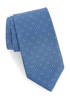 Salvatore Ferragamo Gage Print Silk Tie