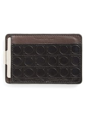 Salvatore Ferragamo 'Gamma Soft' Money Clip Card Case
