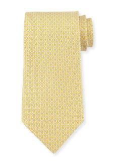 Ferragamo Gancini Bit Silk Tie