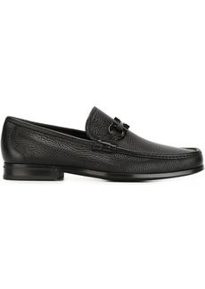 Ferragamo Gancini buckle loafers