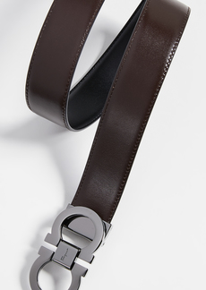 Salvatore Ferragamo Gancini Buckle Reversible Belt