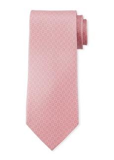 Ferragamo Gancini Chain Silk Tie