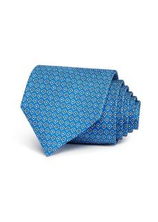 Salvatore Ferragamo Gancini Dots Silk Classic Tie