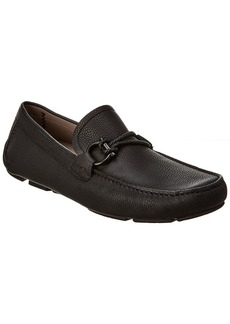 Salvatore Ferragamo Gancini Driver Leather Moccasin