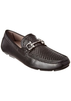 Salvatore Ferragamo Gancini Leather Loafer