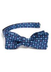 Salvatore Ferragamo Gancini Print Silk Bow Tie