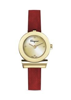 Salvatore Ferragamo Gancini Watch, 27mm