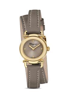 Salvatore Ferragamo Gancino Casual Leather Watch, 26mm