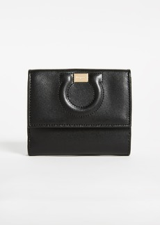 Salvatore Ferragamo Gancio City Flap Wallet