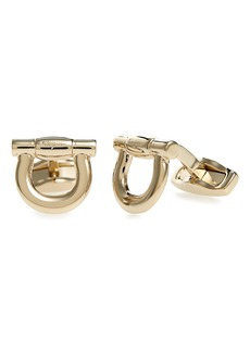 Salvatore Ferragamo Gancio Cuff Links
