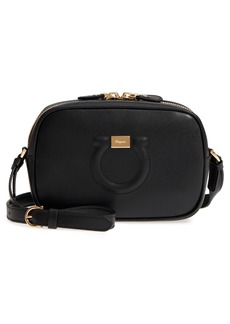 Salvatore Ferragamo Gancio Leather Camera Bag