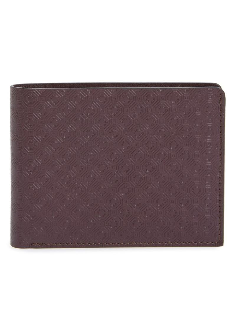Salvatore Ferragamo 'Gancio New York' Leather Bifold Wallet