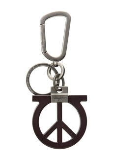 Ferragamo Gancio Peace Sign Charm
