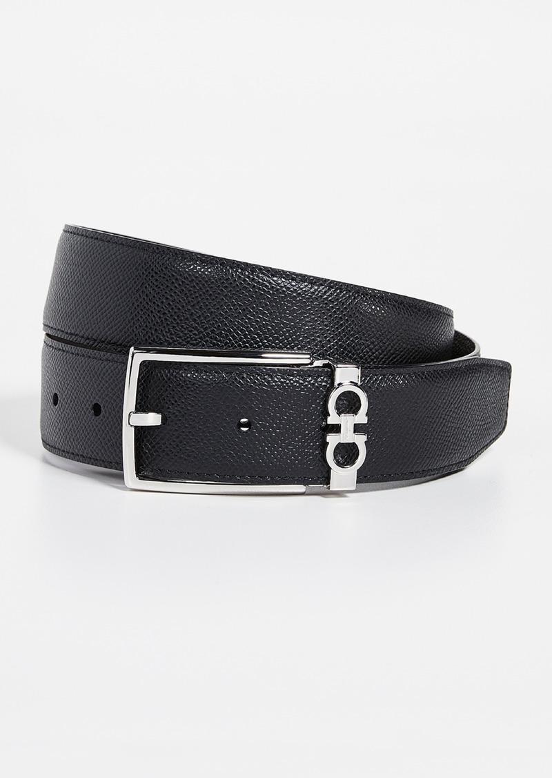 Salvatore Ferragamo Gancio Reversible Belt