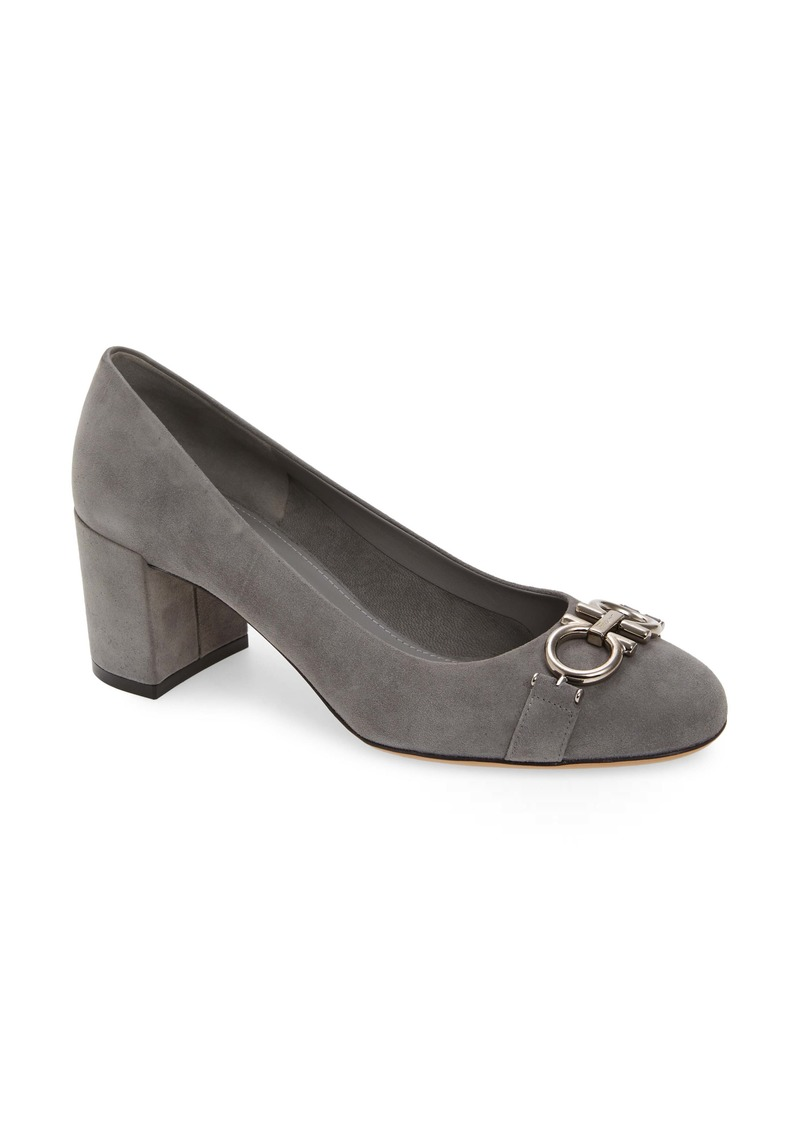 Salvatore Ferragamo Garda Double Gancio Pump (Women)