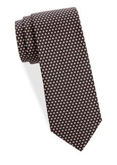 Ferragamo Geometric Silk Tie