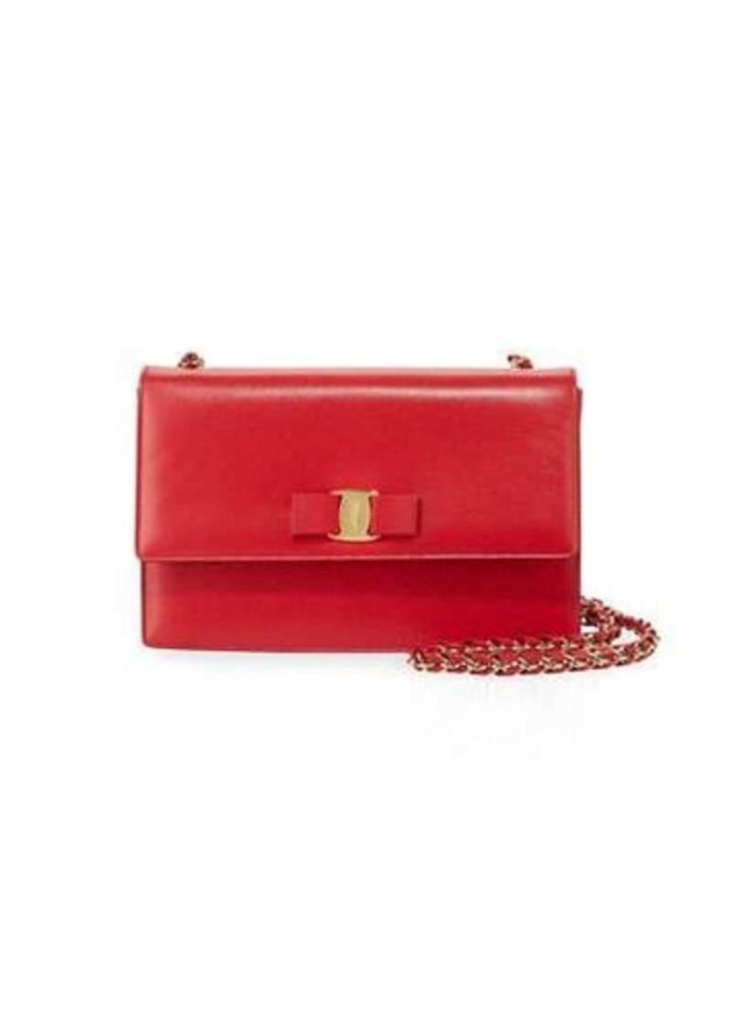 f7f96b2ba23 Ferragamo Salvatore Ferragamo Ginny Medium Patent Shoulder Bag ...