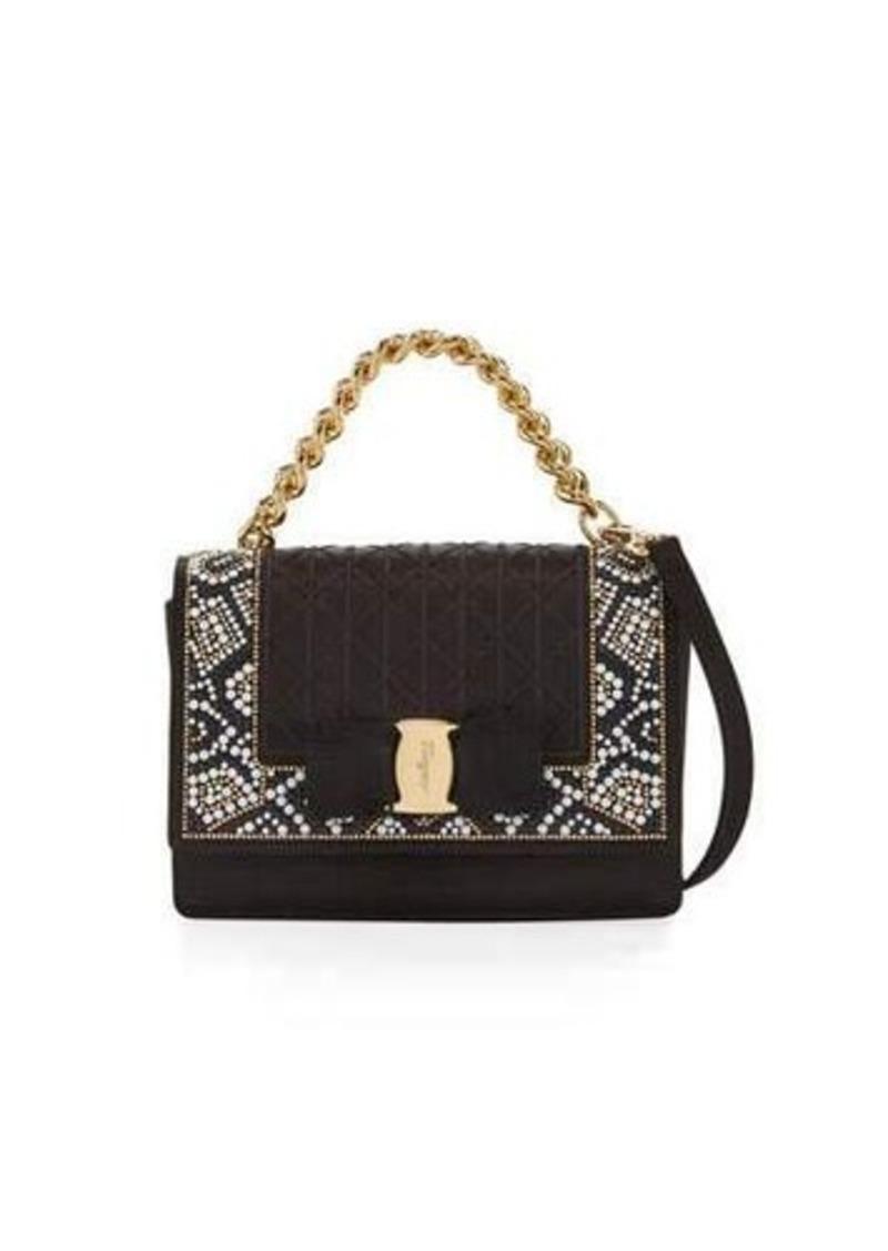 a39662ab9803 SALE! Ferragamo Salvatore Ferragamo Ginny Mini Mosaic Crossbody Bag