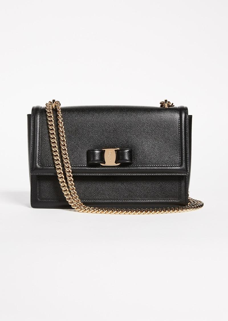 59d791dac6 Ferragamo Salvatore Ferragamo Ginny Shoulder Bag