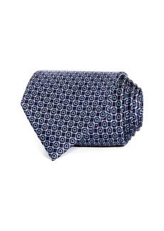 Salvatore Ferragamo Gioco Gancini Silk Classic Tie