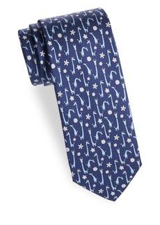 Ferragamo Giraffe Silk Tie