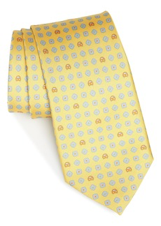 Salvatore Ferragamo Giuliet Print Silk Tie
