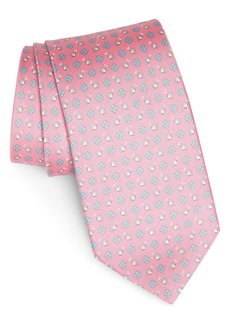Salvatore Ferragamo Giuly Print Silk Tie