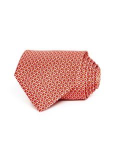 Salvatore Ferragamo Gloss Stars Silk Classic Tie