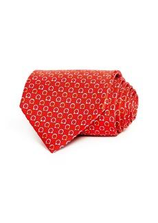 Salvatore Ferragamo Good Gancini Classic Silk Tie