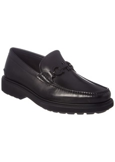 Salvatore Ferragamo Gotham Leather Loafer