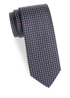 Ferragamo Graphic Silk Tie