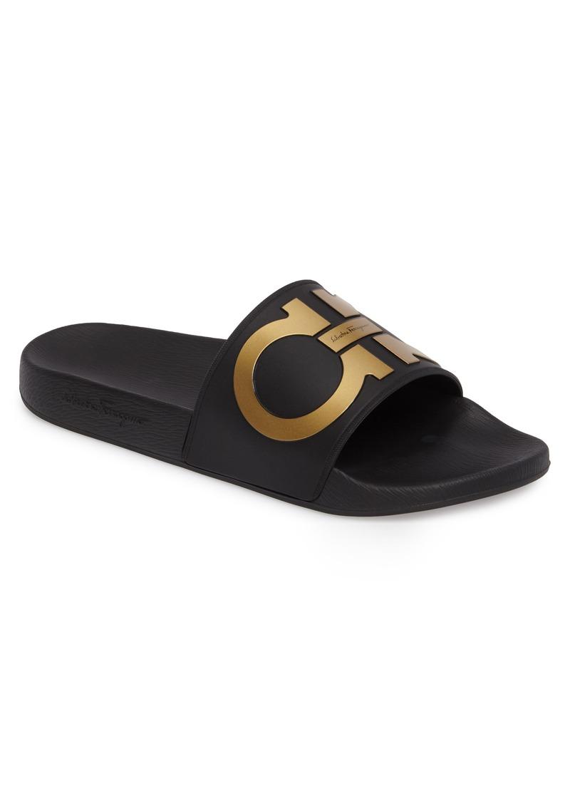 7a5dccb624a7 Ferragamo Salvatore Ferragamo Groove 2 Slide Sandal (Men)
