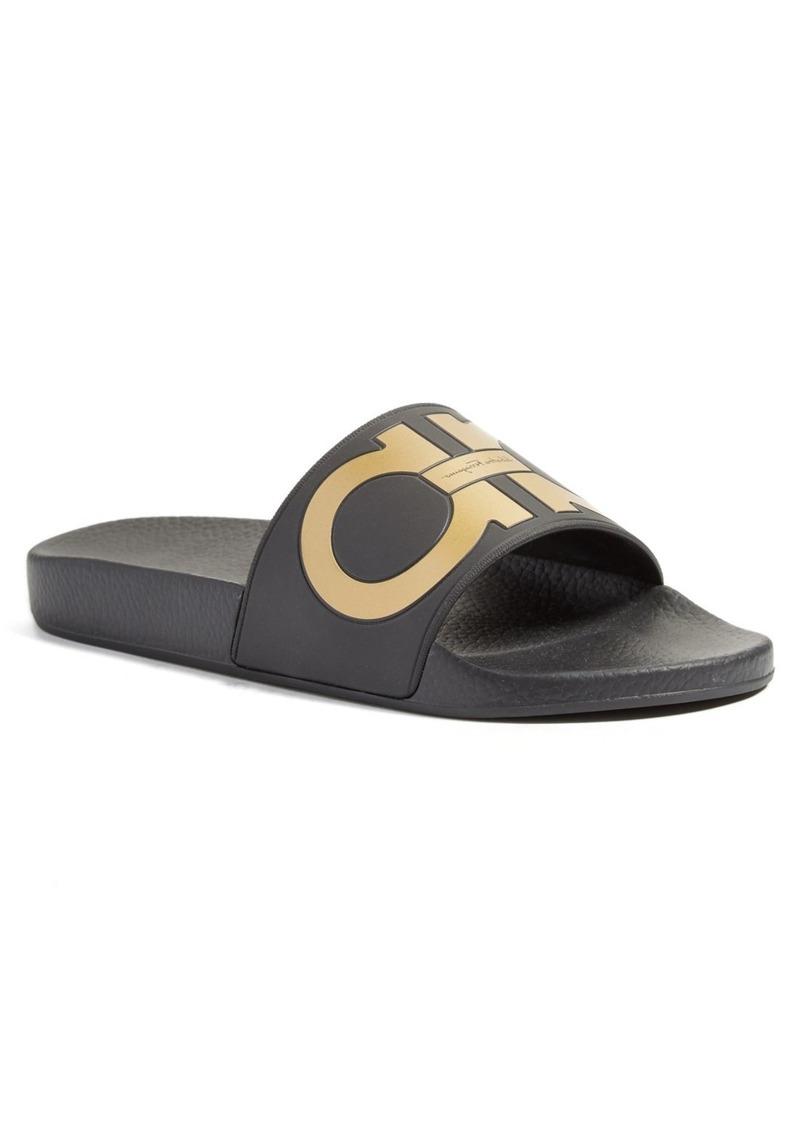 4083f3c5be9 Ferragamo Salvatore Ferragamo Groove Slide Sandal (Men) Now  97.49