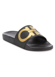Salvatore Ferragamo Groove Slide Sandals